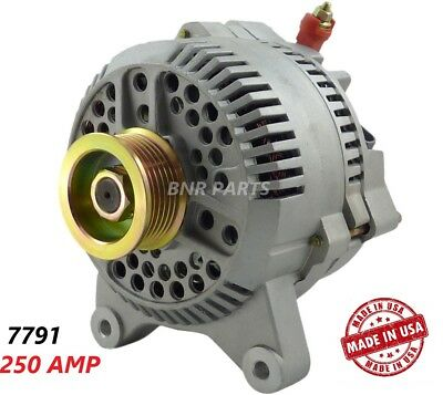 250 Amp 7791 Alternator Ford Lincoln NEW High Output Performance HD MADE IN USA