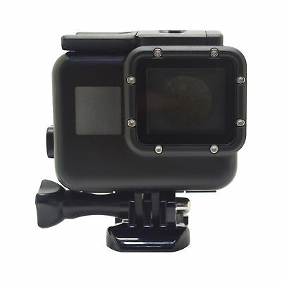 Black Dive Housing Fits GoPro HERO 5 6 7 Waterproof Case Cover Underwater