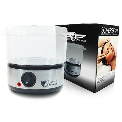 Hot Towel Steamer & Spa Stone Heater for Hair & Beauty Salon and Barbershop Use