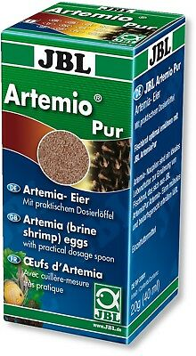 JBL Artemio Pur 40ml Eggs Fish Tank Brine Shrimp Live Food Culture Artemia