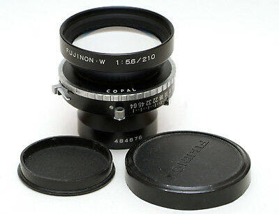 Fujinon-W 210mm f5.6 Large format lens – in Copal Shutter – covers 8x10