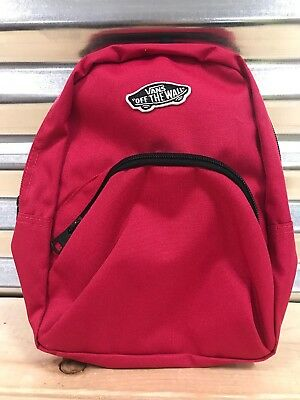 b8053251457d13 Vans Womens Got This Mini Backpack Cerise Pink Black ( VN0A3Z7WSQ2 )