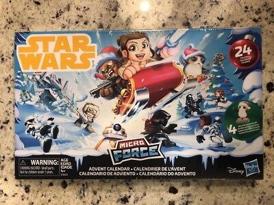 Star Wars Micro Force Advent Calendar NEW Hasbro Disney