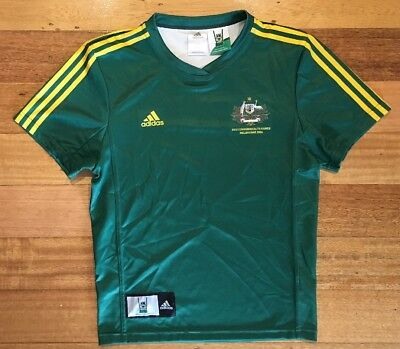 Commonwealth Games Melbourne 2006 NRL Player Issue Jersey Top Adidas - M