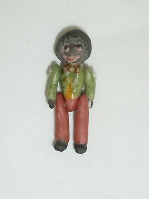 Nada Christensen All Bisque Jointed Miniature Doll, Character from Florence Upto