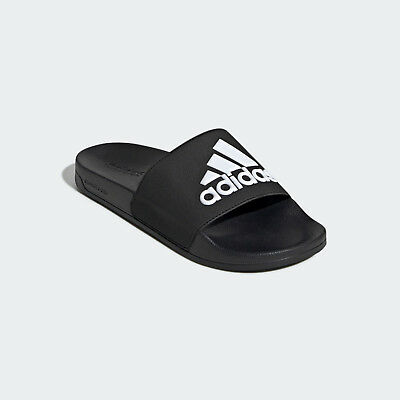 00673e907d0 Mens Adidas Adilette Black Slides Shower Sandal Athletic Sport F34770 Sizes  8-13
