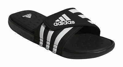 dbcd92177885 Mens Adidas Adissage CF Black Slides Shower Sandals Athletic Sport G19102 9    11