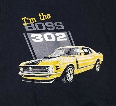 Shirt, Ford Official Licensed Product, l'm the BOSS 302 Graphic T-Shirt, 3T NWT