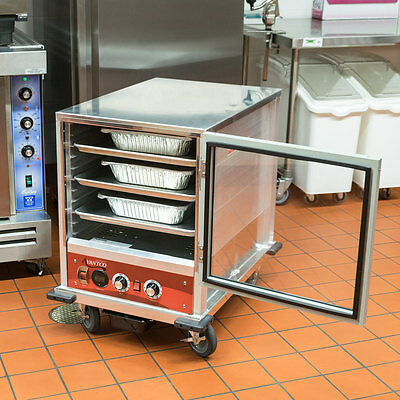 Half Size Electric Undercounter Heated Holding / Proofing Cabinet Clear Door