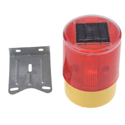 Wireless Solar Strobe Warning Caution Light Traffic Beacon  JS-01