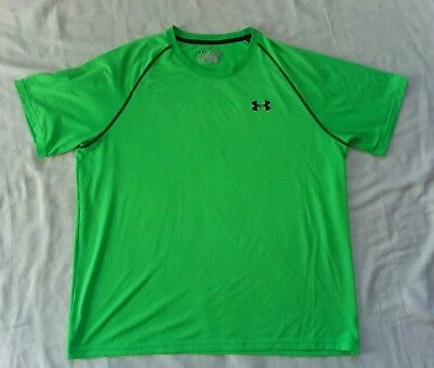 Under Armour MEN/'S Athletic Shirt Loose Heat Gear Anti Odor Green 1291311 Size M