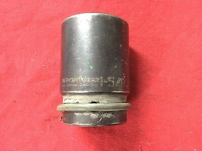 "WRIGHT TOOL 8952 1"" x 1-5/8 DEEP IMPACT SOCKET 6 POINT 1"" Drive"