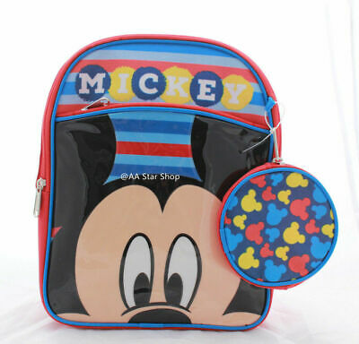 Disney Mickey Mouse Little Boys Kids Toddler Backpack PreSchool Bookbag 10
