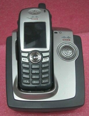 Cisco CP-7921G-E-K9= Wireless IP Phone and charger...