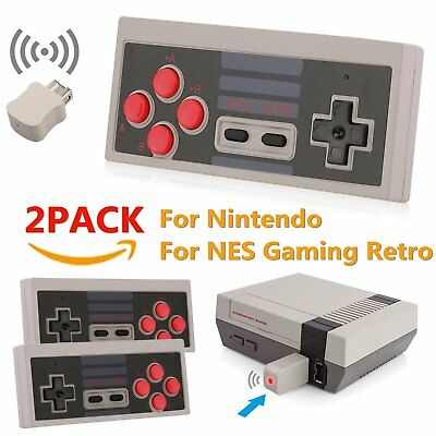 For Nintendo NES Classic Edition Mini Video System GamePad Wireless Controller A