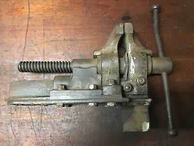Vintage Blacksmith Leg Vice Bench Mount style, Heavy Duty BlackSmith Tool's