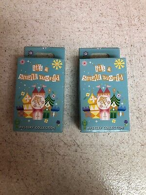 Disney Parks Its A Small World Two Mystery Pin Box With Two Random Pins New OE