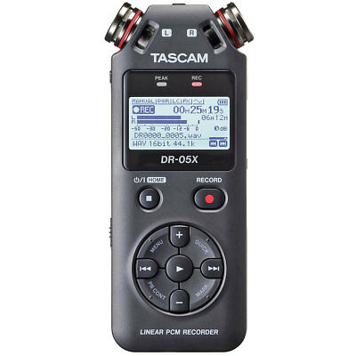 Tascam DR-05X Portable Recorder Dictaphone with Interface-Funktion