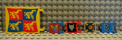 A8 LEGO RITTER  FLAGGE 2335px8 2525p01 2525px6 2335px2 2335px43 B-WARE 6285