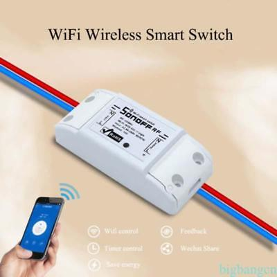 Sonoff Smart Home WiFi Wireless Switch Module Monitor For IOS Android APP New