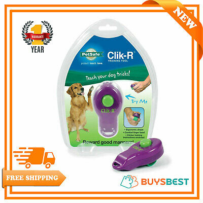 PetSafe Clik-R Training Tool, Obedience Aid, Clicker For Dogs - CLKR-RTL