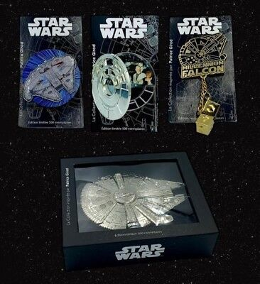 PINS STAR WARS / Collection Patrice Girod / disneyland paris / LE 500