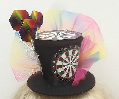Dart Enthusiasts Mini Top Hat