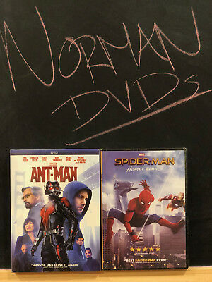 Spider-Man Homecoming & Ant-Man (DVD, 2015, 2017) NEW! SEALED US SELLER