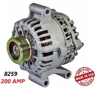 200 AMP 8259 Alternator Ford Escape Mazda Tribute High Output NEW HD Performance