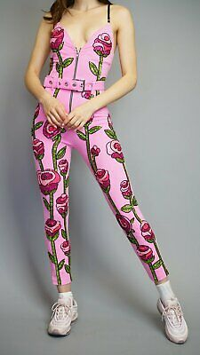 DISCOUNT UNIVERSE Pink Roses Body Suit