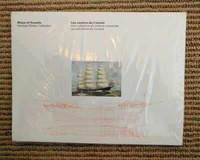 New Mint Vtg 1978 Ships of Canada Heritage Stamp Collection Book and Stamps