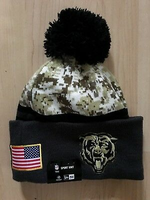 b0b46658 CHICAGO BEARS NEW Era Basic Cuff Knit Hat Beanie One Size - $17.99 ...