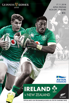 Ireland v New Zealand - Rugby International - 17 November 2018 - Stadium Edition