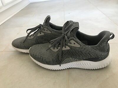 new styles 695b0 71580 Adidas Alphabounce HPC AMS M Grey Mens Shoes Sz 9 only on foot 2 months