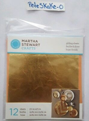 #S3 DECOUPAGE 8 Designs METALLIC TRIM GOLD Martha Stewart Crafts