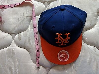 e4e9300b3c6 OC SPORTS NEW York Mets S M Adjustable Hat Official License NEW ...