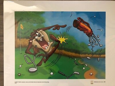 Genuine Warner Brothers Taz Limited Edition Giclee
