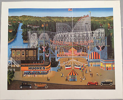 Herb Filmore Theme Park Deluxe Limited Edition Print