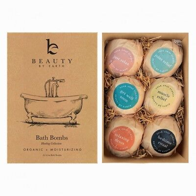 Beauty by Earth Bath Bombs Gift Set - Set of 6