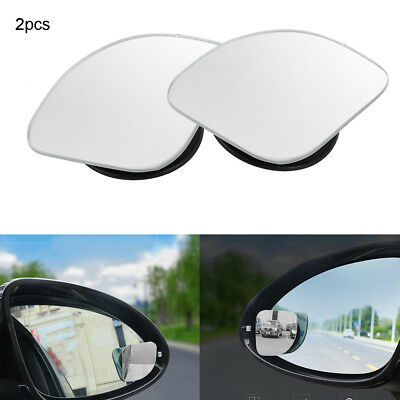 Rear View  Wide Angle 360 Degree Rotation  HD Glass Blind Spot Mirror  Convex