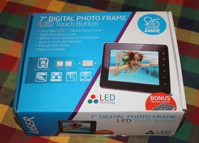 Laser 7 inch Digital Photo Frame - BRAND NEW IN BOX
