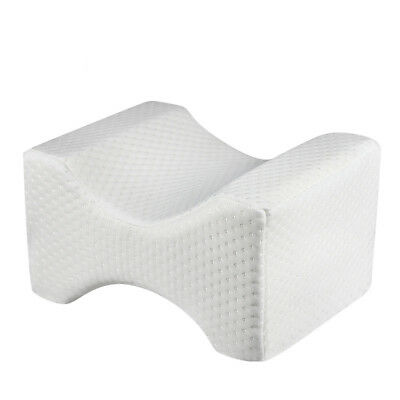 Contour Leg Pillow Memory Foam Bed Orthopaedic Firm Hips Knee Support Cover