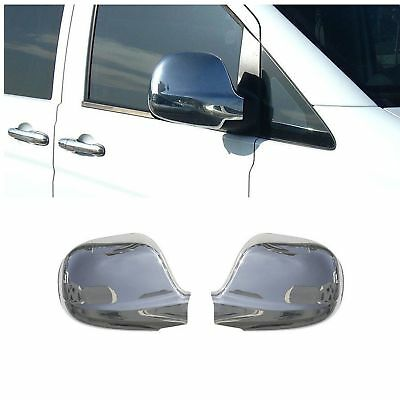 2 Coque Retroviseur Mercedes Vito W639 09/2003-08/2009 Chrome