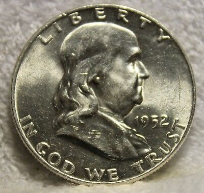 1952 D franklin half dollar uncirculated