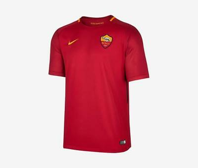 AS Roma 2017-18 home shirt by Nike - adult S