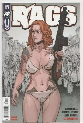Rags #1 1St Print Antartic Press Comics 2019 Hot Book