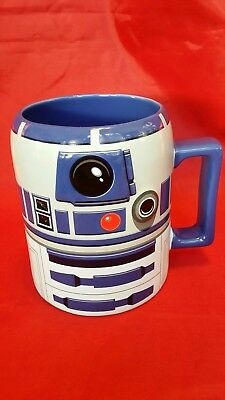 Pasadena Collector D2 Store Mug Ceramic Disney Star Wars R2 New Authentic Lrg 6Yf7ybg