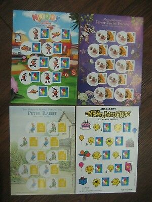 2008 SMILERS for KIDS first serie complete set of 4 sheets UM pristine condition