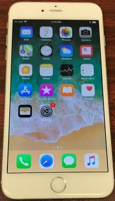 Apple iPhone 6 Plus - 64GB - A1522 Silver Factory Unlocked (CDMA + GSM)