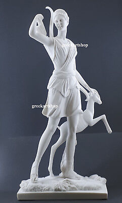 Diana of Versailles Greek Goddess Artemis Statue Sculpture Cast Marble Copy 21.6